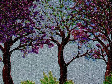Frühlingsblüte von Greta Lipman