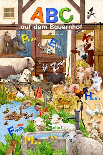 ABC auf dem Bauernhof van Marion Krätschmer