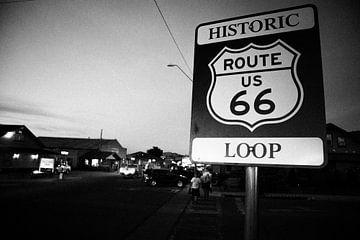 Route 66-Schild von Yannick uit den Boogaard