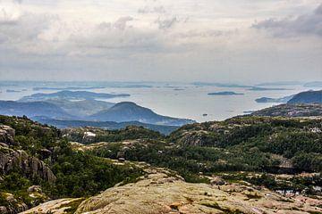 Noorweegse Fjorden van Remco de Zwijger