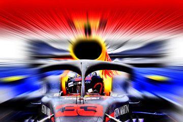 No. 33 - Max Verstappen 2018 van Jean-Louis Glineur alias DeVerviers