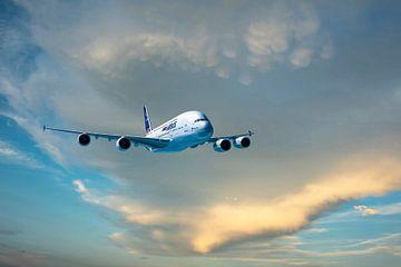 Airbus A380 von Gert Hilbink