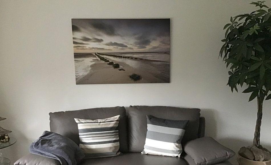 Photo de nos clients: Paalhoofd sur Linda Raaphorst, sur toile