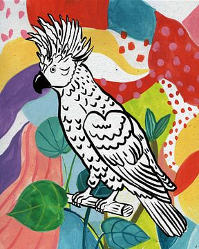 Jungle cockatoo, Farida Zaman van Wild Apple
