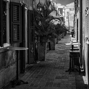 Steegje in Pietermaai, Curacao