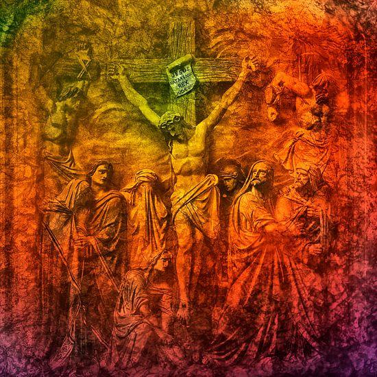Iesus Nazarenus Rex Iudaeorum van 2BHAPPY4EVER.com photography & digital art