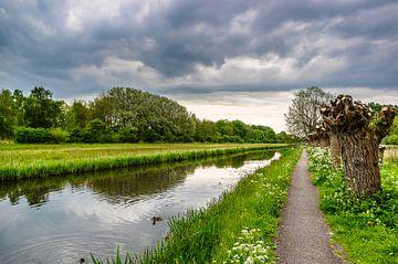 Willowlaantje entlang des Grabens von Gijs Rijsdijk
