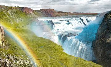 Regenboog waterval van Niels Hemmeryckx