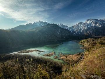 Aan de voet van het Tote Gebirge van Thomas Weber