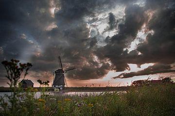 Molen Het Noorden Texel van Jitske Cuperus-Walstra