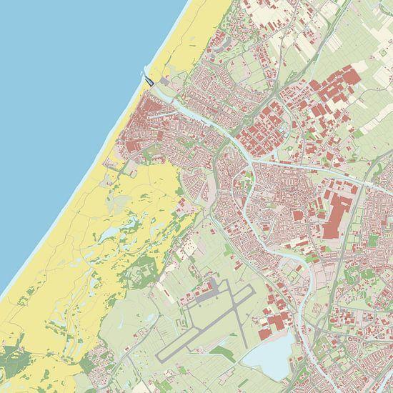 Kaart vanKatwijk van Rebel Ontwerp