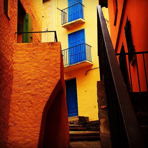 Colours of Collioure van Peter Bontan