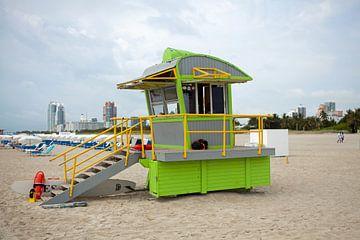 Miami Beach (Florida) - Badmeesterhut van t.ART