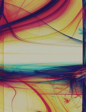 Composition abstraite 359 sur Angel Estevez