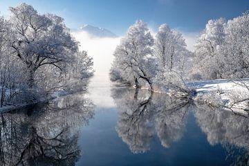 Winter in Opper-Beieren van Achim Thomae