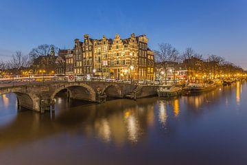 Papiermolensluis en Brouwersgracht in Amsterdam - 4 von Tux Photography