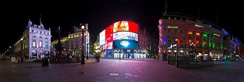 Panorama Piccadilly Circus te Londen van