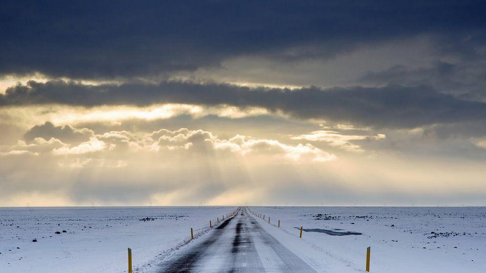 Road to the sun... van Lex Schulte