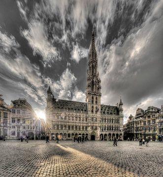 Großer Platz von Brüssel von Paul Marnef