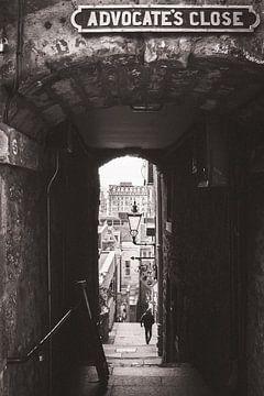 Advocate's Close in Edinburgh  van Thea.Photo