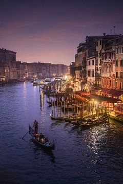 Rialtobrug Venetië van Iman Azizi