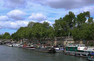 woonboten seine in Parijs