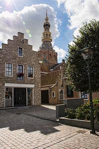 Straatje richting Stadhuis in Zierikzee