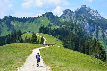 Bergwandeling Piesenhausener Hochalm en Kampenwand Beieren Duitsland van My Footprints