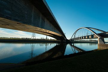 Havenbruggen in Rotterdam sur