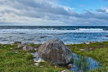 rots op de kust
