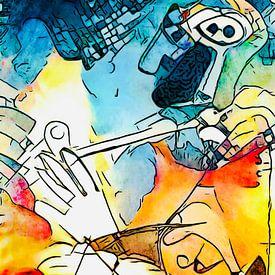 Hommage à Picasso (4) sur zam art