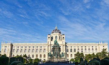 Gedenkteken voor keizerin Maria Theresia in Wenen van Leopold Brix