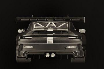 Porsche 911 GT-3 RS - Cup 2021 achter