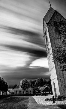 De scheve toren van Bedum von Peter en Hetty van Veen