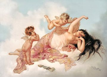 Erwachen der Liebe, 1894 von Atelier Liesjes