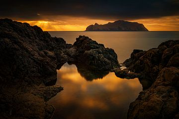 Mykines sunset van Wojciech Kruczynski