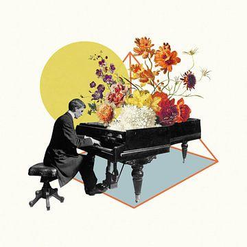 And he Played his Piano von Marja van den Hurk