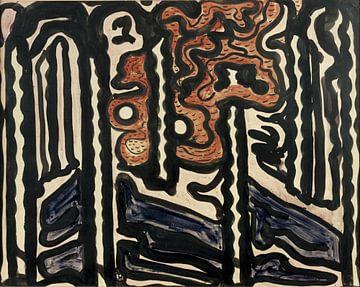 Komposition, Jacoba van Heemskerck - 1916 von Atelier Liesjes
