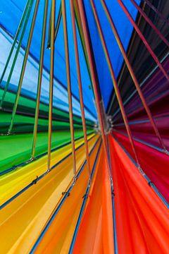 Kleurencarrousel van Tienke Huisman