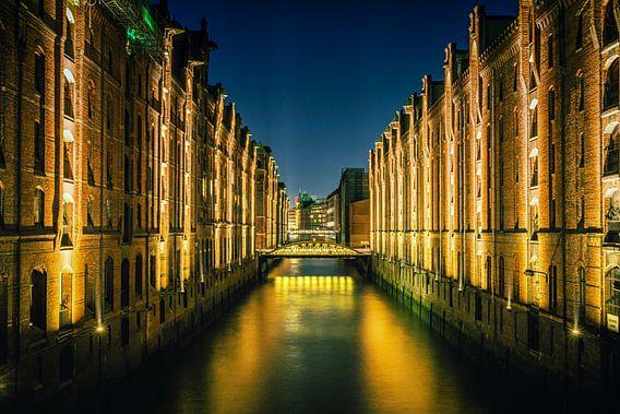Speicherstadt - Hamburg van Holger Debek