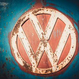 Volkswagen busje logo vw van Niels Hemmeryckx