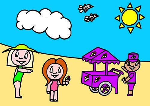 Suz naar  het strand van AG Van den bor