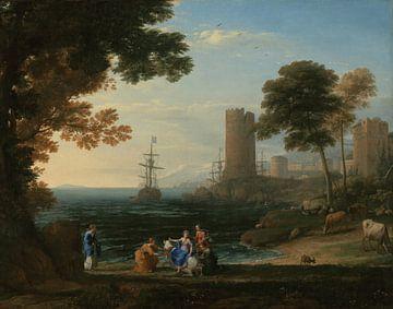 Claude Lorrain. Coast View mit der Abduktion von Europa
