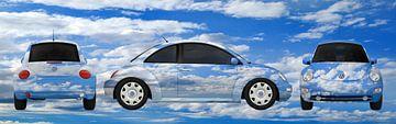 VW Kever op wolken van aRi F. Huber