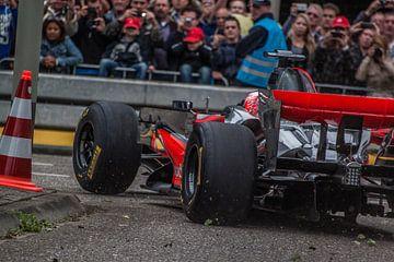button tijdens GP van Roggel van Mario Driessen