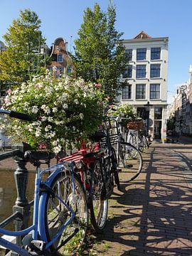 Amsterdamer Brücke von Odette Kleeblatt