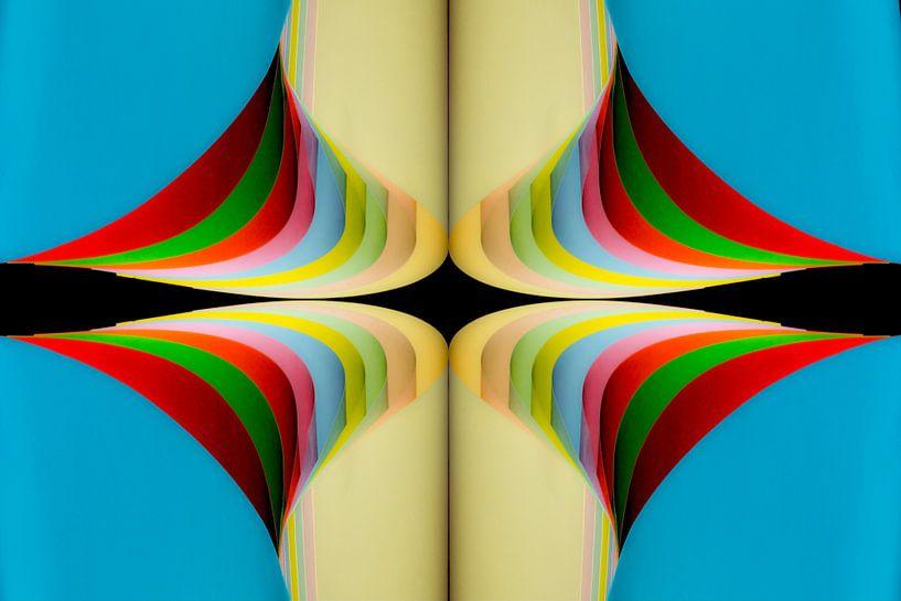 Papierkunst, digitale kunst. van Gert Hilbink