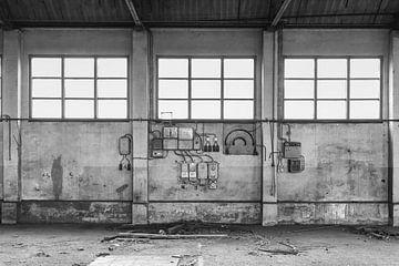 Verlassene Werft, 2020 von Anna den Broeder