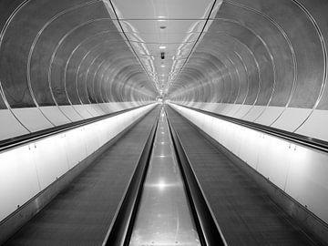 Metrostation Wilhelminapier von Peter Kaijen