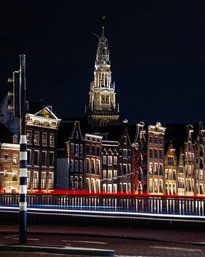 Amsterdam dancing houses @ night